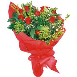 10 adet kirmizi gül buketi  Balgat online çiçekçi telefonları