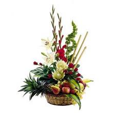 Ankara Balgat online internetten çiçek siparişi  mevsim sepeti ve çiçekler