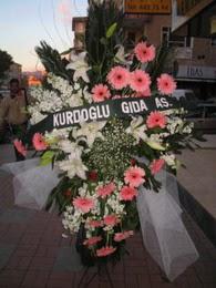 kazablanka,gerbera,sebboy ferforje  Ankara Balgat online internetten çiçek siparişi