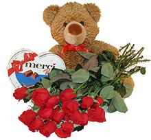 oyuncak çikolata  12  gül   Balgat online çiçekçi telefonları