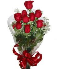 9 adet kaliteli kirmizi gül   Ankara 14 şubat sevgililer günü çiçek