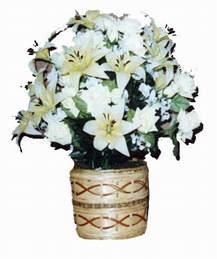 yapay karisik çiçek sepeti   Balgat Ankara kaliteli taze ve ucuz çiçekler