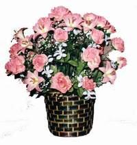 yapay karisik çiçek sepeti  çiçek mağazası , çiçekçi adresleri