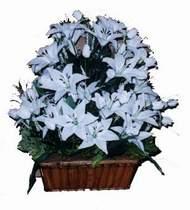 yapay karisik çiçek sepeti   Balgat online çiçek siparişi vermek