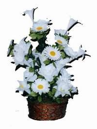 yapay karisik çiçek sepeti  Balgat Ankara online çiçek gönderme sipariş