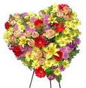 kalp biçiminde ferförje   Balgat çiçek gönderme sitemiz güvenlidir