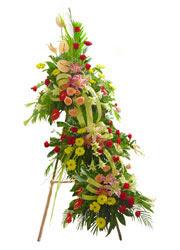 üç katli perförje çiçegi  Ankara Balgat online internetten çiçek siparişi