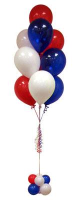 Sevdiklerinize 17 adet uçan balon demeti yollayin.    Ankara çiçekçiler hediye çiçek yolla