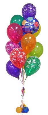 çiçek satışı ankara balgat çiçekçi  Sevdiklerinize 17 adet uçan balon demeti yollayin.
