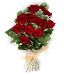 Balgat çiçek yolla , çiçek gönder , çiçekçi   9 lu kirmizi gül buketi.