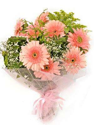 çiçek satışı ankara balgat çiçekçi  11 adet gerbera çiçegi buketi