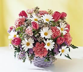 Balgat online çiçek siparişi vermek  Karisik mevsim çiçek sepeti