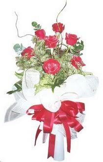 Ankara internetten çiçek satışı  7 adet kirmizi gül buketi