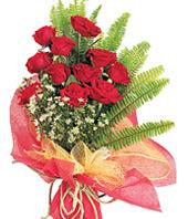 11 adet kaliteli görsel kirmizi gül  çiçek satışı ankara balgat çiçekçi
