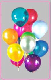 Balgat online çiçek siparişi vermek  15 adet karisik renkte balonlar uçan balon