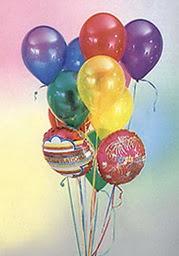 çiçek mağazası , çiçekçi adresleri  19 adet karisik renkte uçan balon buketi