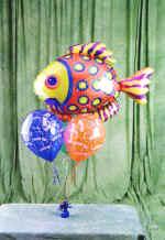 Balgat online çiçek siparişi vermek  9 adet uçan balon renkli oyuncak balonlar
