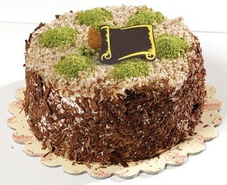 pasta gönderme 4 ile 6 kisilik çikolatali yas pasta  çiçek satışı ankara balgat çiçekçi