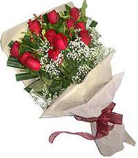 11 adet kirmizi güllerden özel buket  Balgat Ankaradaki çiçekçiler