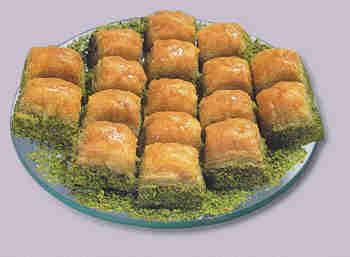 pasta tatli satisi essiz lezzette 1 kilo fistikli baklava  Balgat Ankaradaki çiçekçiler