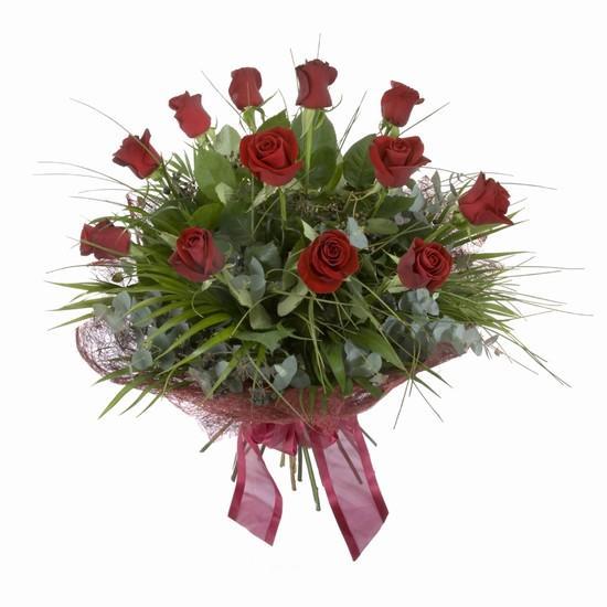 Etkileyici buket 11 adet kirmizi gül buketi  Balgat Ankara çiçek siparişi sitesi