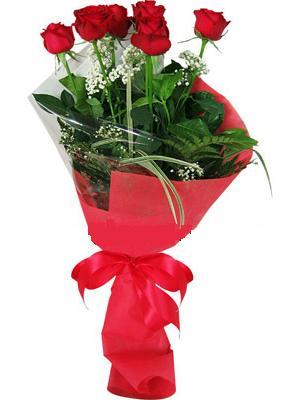 7 adet kirmizi gül buketi  Balgat çiçek yolla , çiçek gönder , çiçekçi