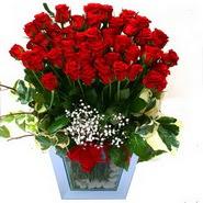 Balgat Ankaradaki çiçekçiler   51 adet kirmizi gül aranjmani
