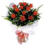 Ankara çiçekçiler hediye çiçek yolla  9 adet güzel bir gül buketi