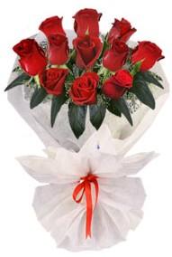 11 adet gül buketi  Balgat Ankaradaki çiçekçiler  kirmizi gül