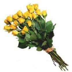 Balgat Ankara çiçek online çiçek siparişi  12 adet sari gül buketi özel