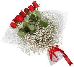 7 adet kirmizimi kirmizi gül buketi  Balgat Ankara anneler günü çiçek yolla