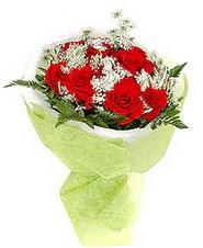 Ankara çiçekçiler hediye çiçek yolla  7 adet kirmizi gül buketi tanzimi