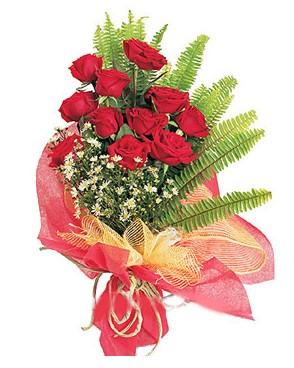 balgat çiçek siparişi Ankara çiçek yolla  11 adet kırmızı güllerden buket modeli