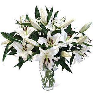 Balgat Ankara çiçek gönderme  3 dal görsel casablanca vazo tanzimi