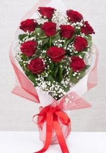 11 kırmızı gülden buket çiçeği  Balgat Ankara çiçek online çiçek siparişi