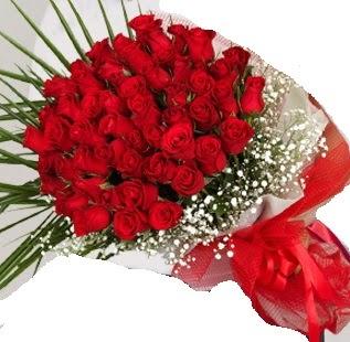 51 adet kırmızı gül buketi  Ankara İnternetten çiçek siparişi