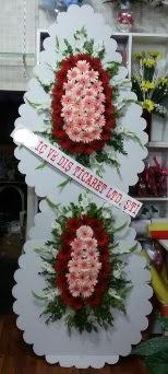 Çift katlı düğün nikah açılış çiçeği  Ankara İnternetten çiçek siparişi