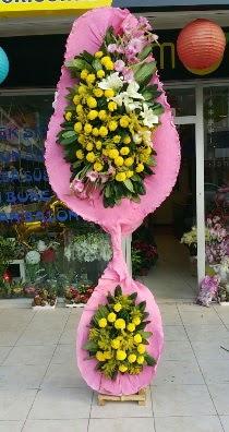 Çift katlı düğün açılış çiçeği  Ankara çiçek servisi , çiçekçi adresleri