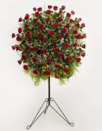 71 adet kırmızı gülden ferförje çiçeği  Ankara Balgat online internetten çiçek siparişi