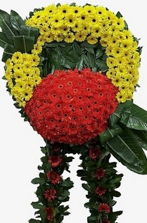 Görsel cenaze çiçeği  Ankara internetten çiçek satışı