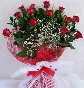 13 kırmızı gülden kız isteme söz çiçeği  Balgat Ankara çiçek gönderme