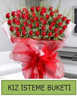 Kız isteme buketi 33 adet kırmızı gül  Ankara çiçekçiler hediye çiçek yolla