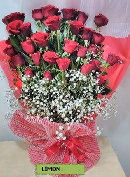 Kız isteme buket çiçeği 33 kırmızı gül  Ankara çiçekçiler hediye çiçek yolla