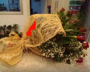 21 adet kırmızı gül kız isteme buketi  Balgat çiçek gönderme sitemiz güvenlidir