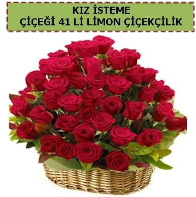 41 Adet gül kız isteme çiçeği modeli  Balgat Ankara çiçek gönderme