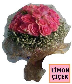 Pembe gül kız isteme söz nişan çiçeği  Balgat çiçek gönderme sitemiz güvenlidir