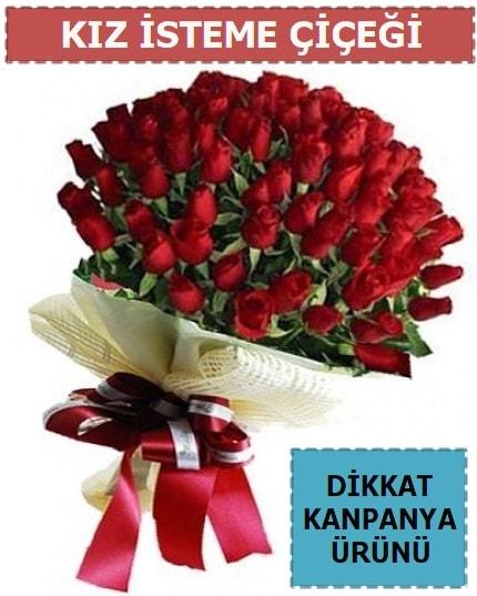 51 Adet gül kız isteme çiçeği buketi  Balgat Ankara uluslararası çiçek gönderme