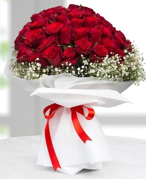 41 adet kırmızı gül buketi  çiçek satışı ankara balgat çiçekçi  süper görüntü
