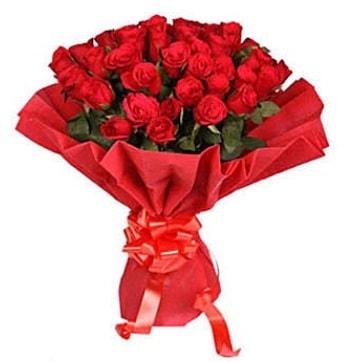 41 adet gülden görsel buket  çiçek satışı ankara balgat çiçekçi