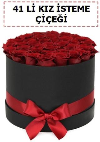 41 li kız isteme kutuda çiçek  Balgat  ucuz çiçek , çiçekçi , çiçekçilik